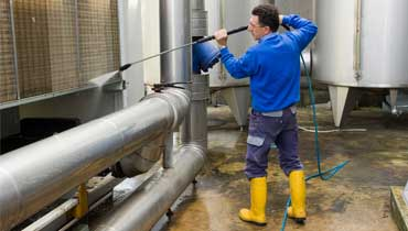 Professional industrial cleaning in Enfield