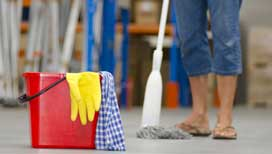 Specialist post construction cleaning