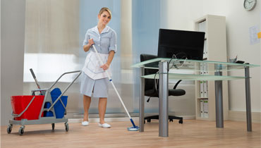 Quality office building cleaning in Enfield
