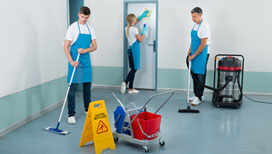 Quality janitorial cleaning services