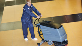 Specialist floor cleaning services