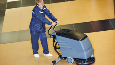 Specialist floor cleaning services in London